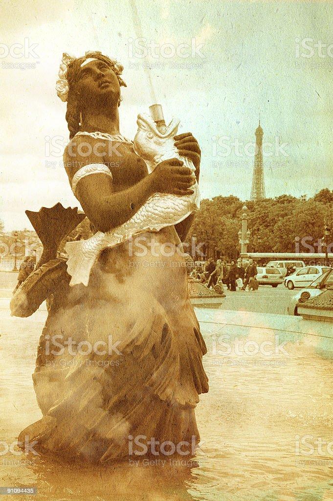 Dreaming Paris Series stock photo