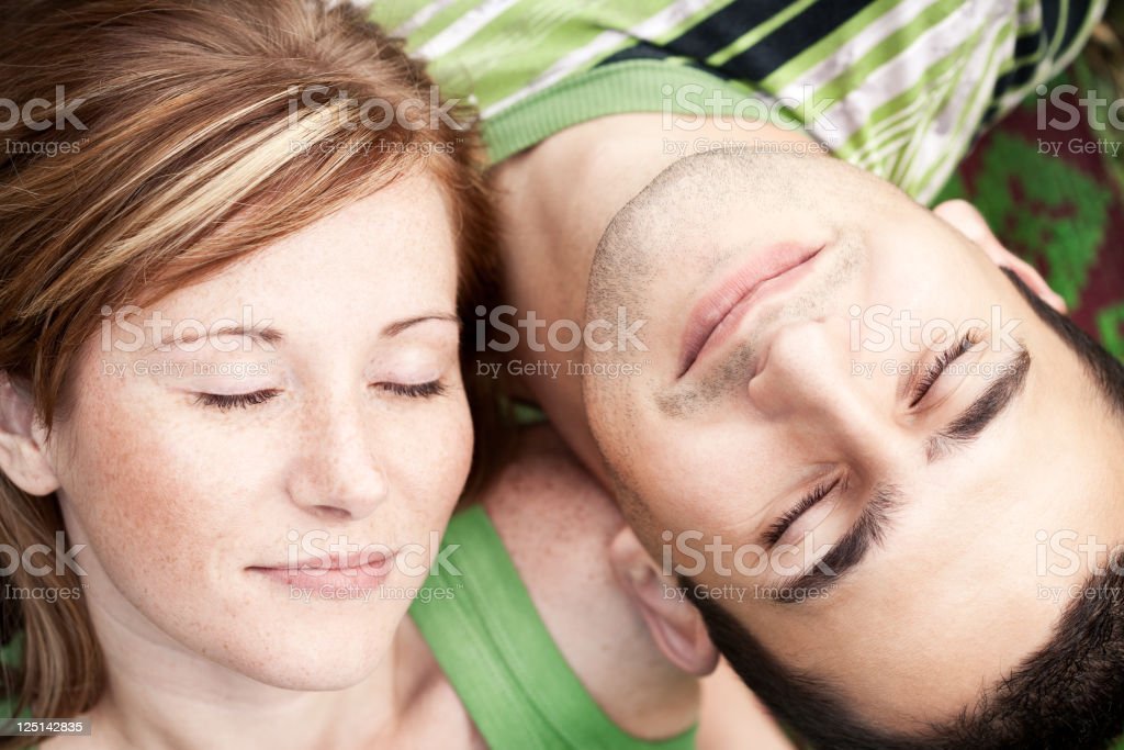 Dreaming royalty-free stock photo