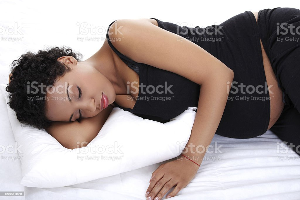 Dreaming. stock photo