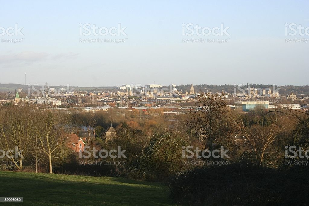 Dreaming Spires royalty-free stock photo