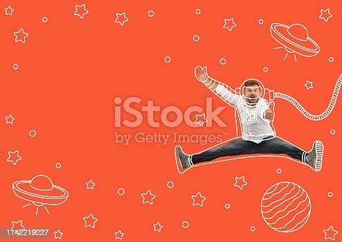 istock Dreaming to explore space 1142219227