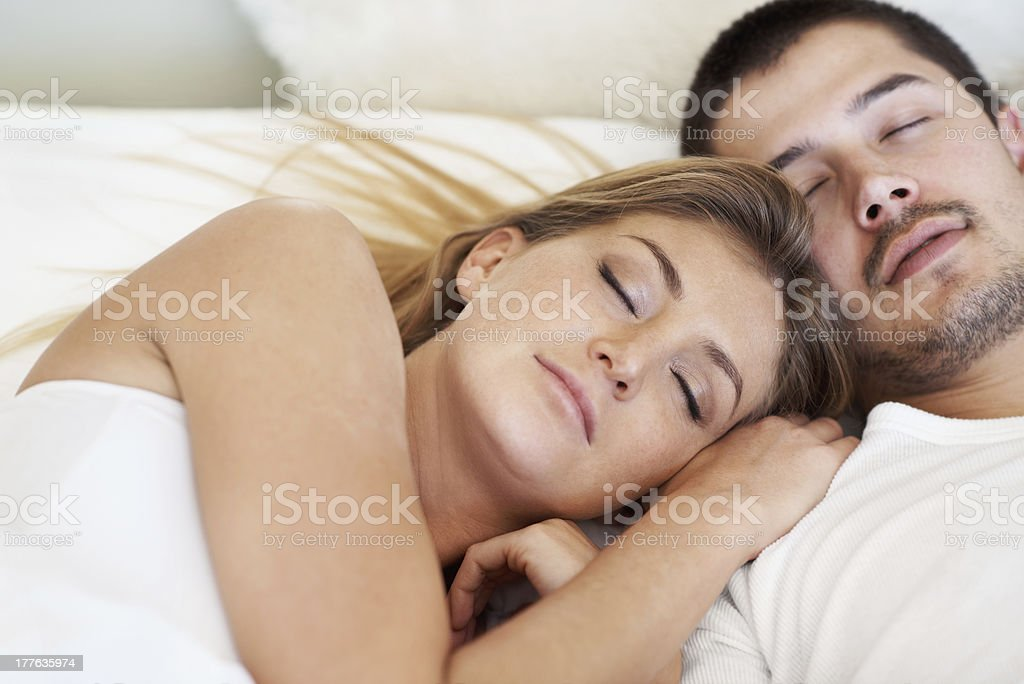 Dreaming together royalty-free stock photo