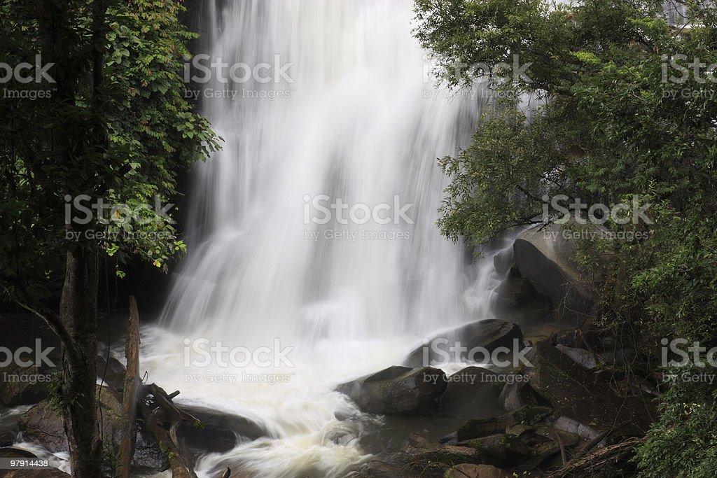 Dreaming waterfall royalty-free stock photo