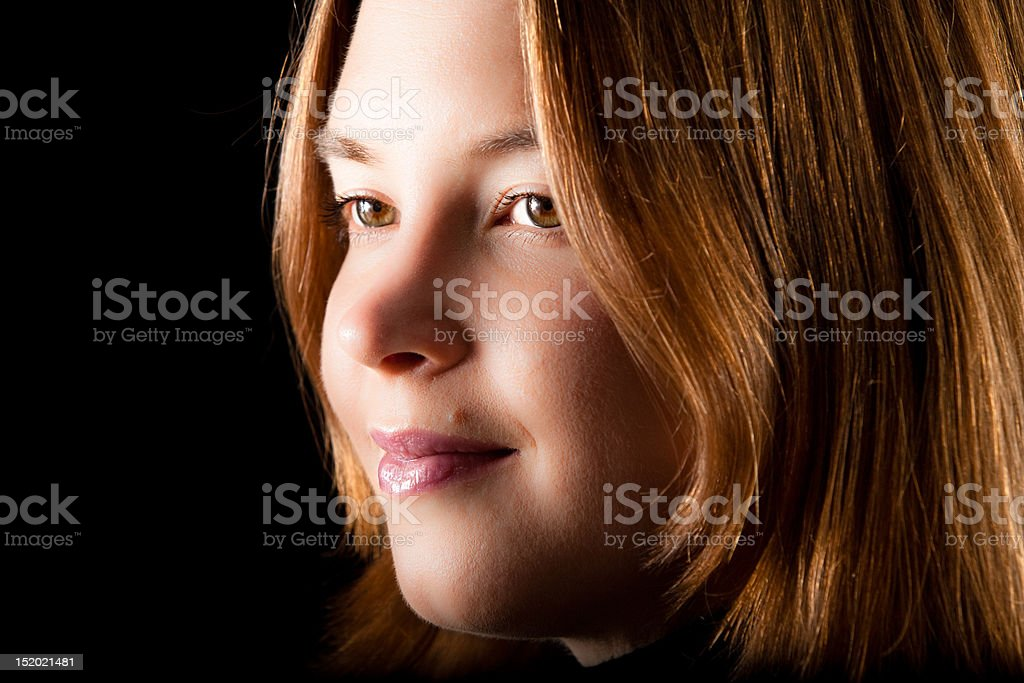 Dreaming Woman stock photo