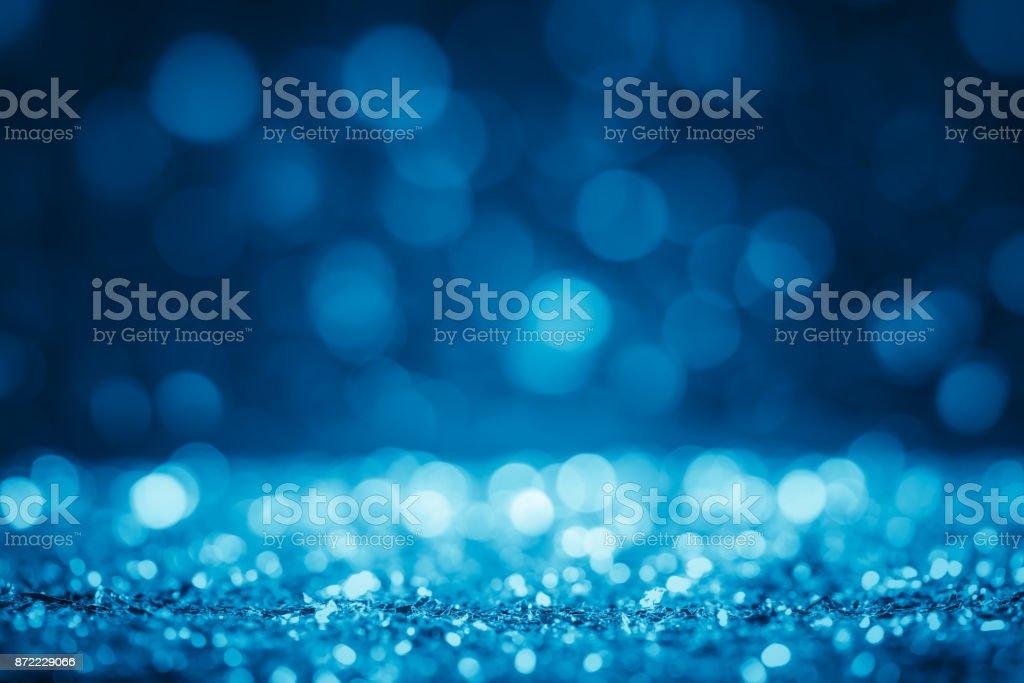 Dreamlike defocused glitter background stock photo