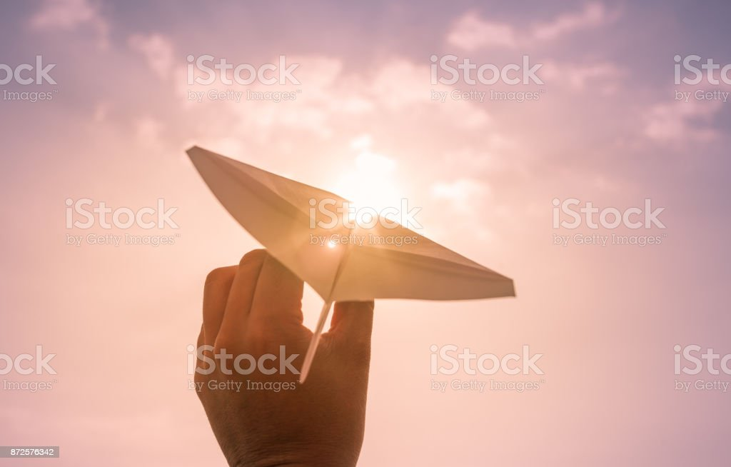 Dreams and goals! stock photo