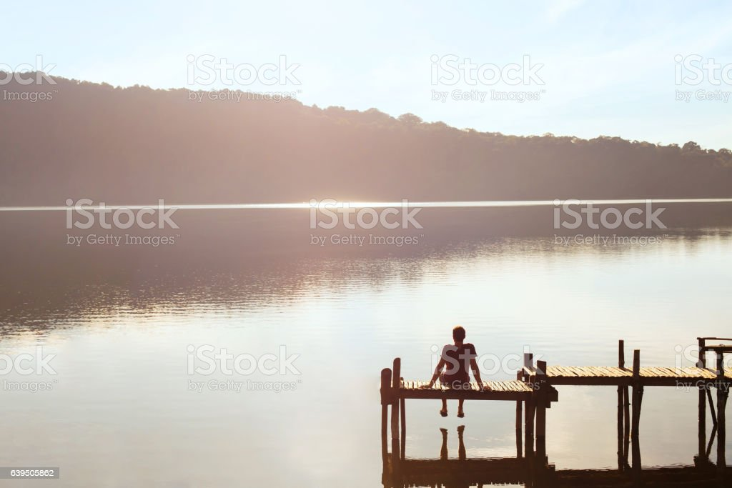 dreams and inspiration, happiness concept, enjoy life stock photo