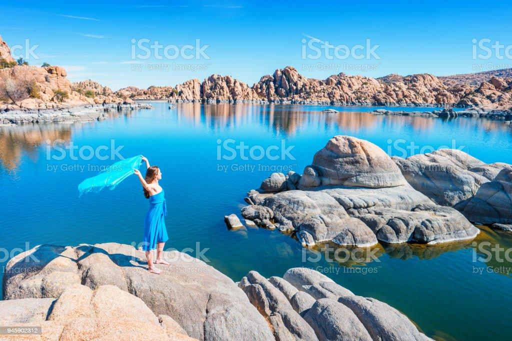Dreams at Watson Lake Arizona USA