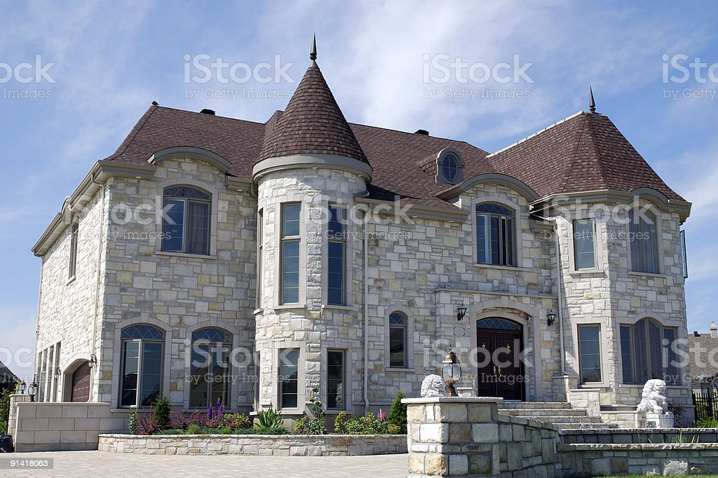 Dreams house royalty-free stock photo