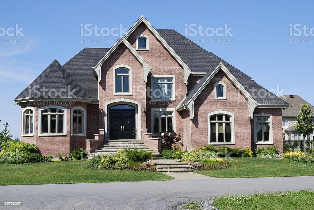 Dreams house stock photo