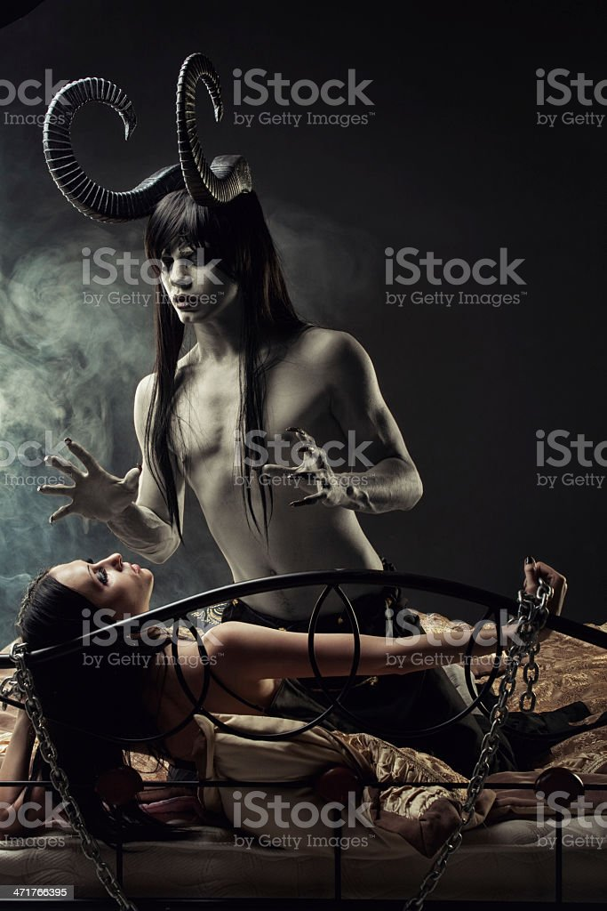 Dreams of mind rise monsters royalty-free stock photo