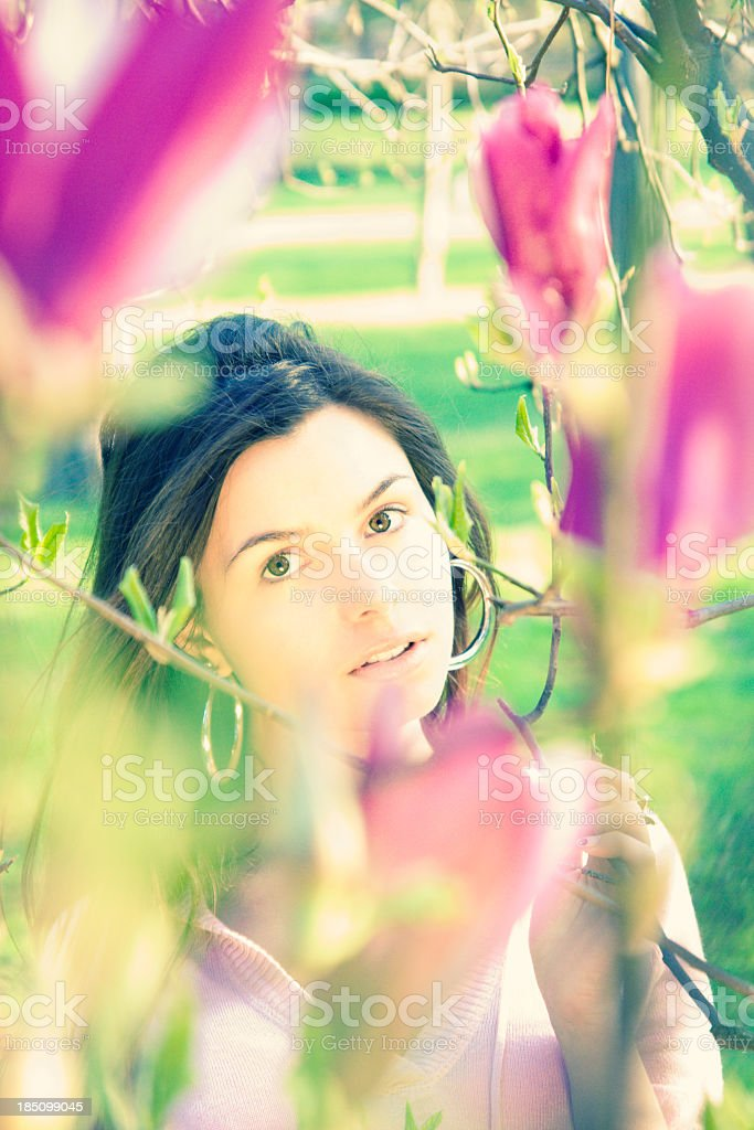 Dreams of Spring royalty-free stock photo