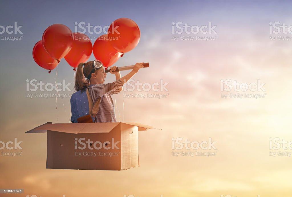 Dreams de viajes foto de stock libre de derechos