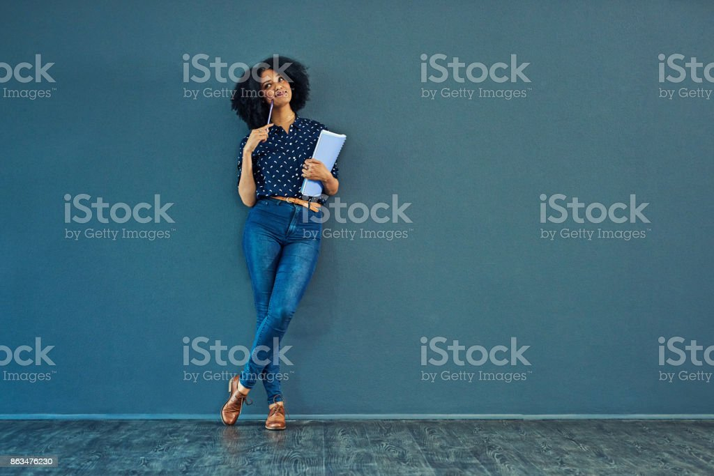 Dreams were meant to be followed stock photo