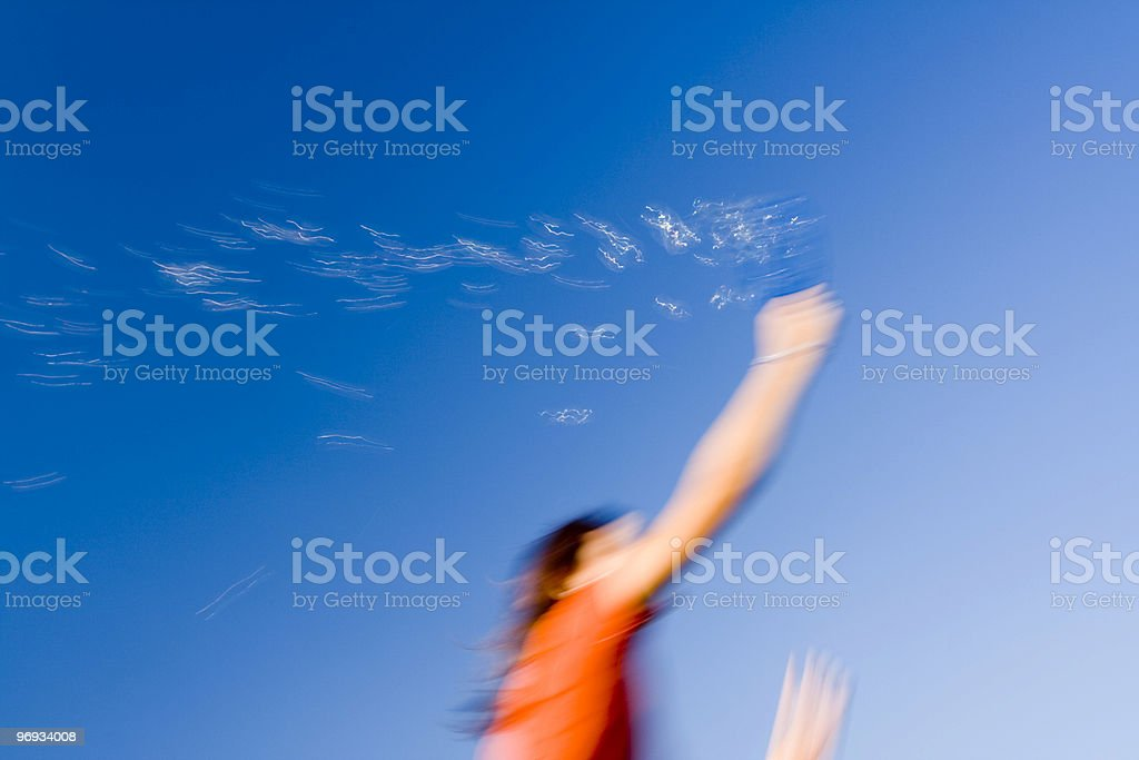 Dreams what Bubbles royalty-free stock photo