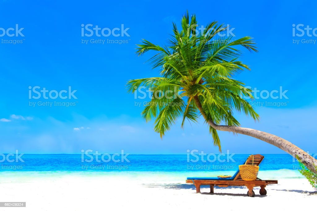 Dreamscape Escape On Maldives royalty-free stock photo