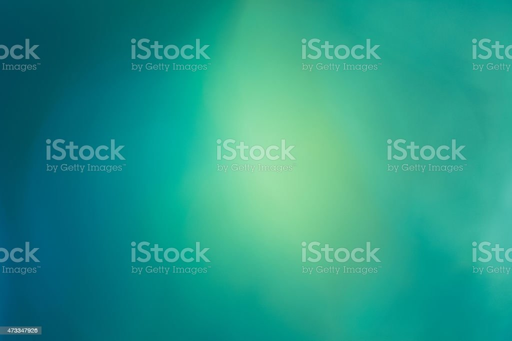 Dreamy Bokeh Background - Green & Blue stock photo