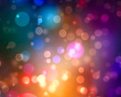 Dream-like bokeh background, useful for: beautiful festive blur backdrop, abstract festive wallpaper or holiday greeting card.