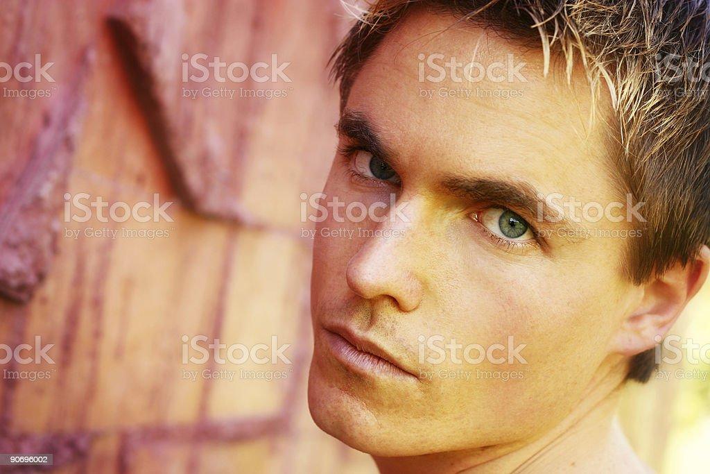 Dreamy Eyes royalty-free stock photo