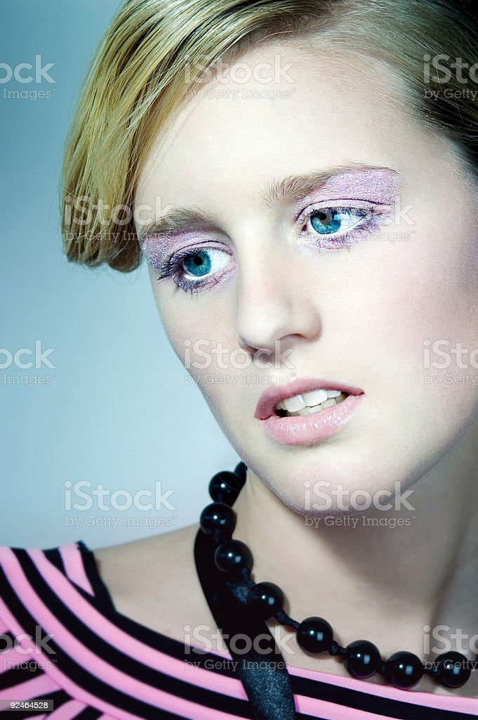 Dreamy Face stock photo