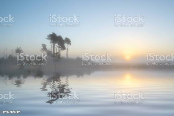 Photo of Dreamy Lakeside Sunrise