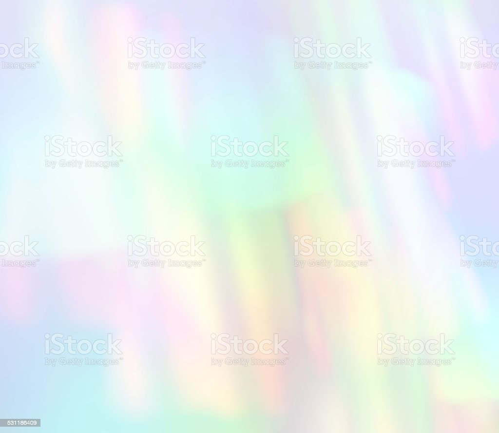 Dreamy Light Refraction Pastel Soft Pale Background Abstract Defocus Rainbow stock photo