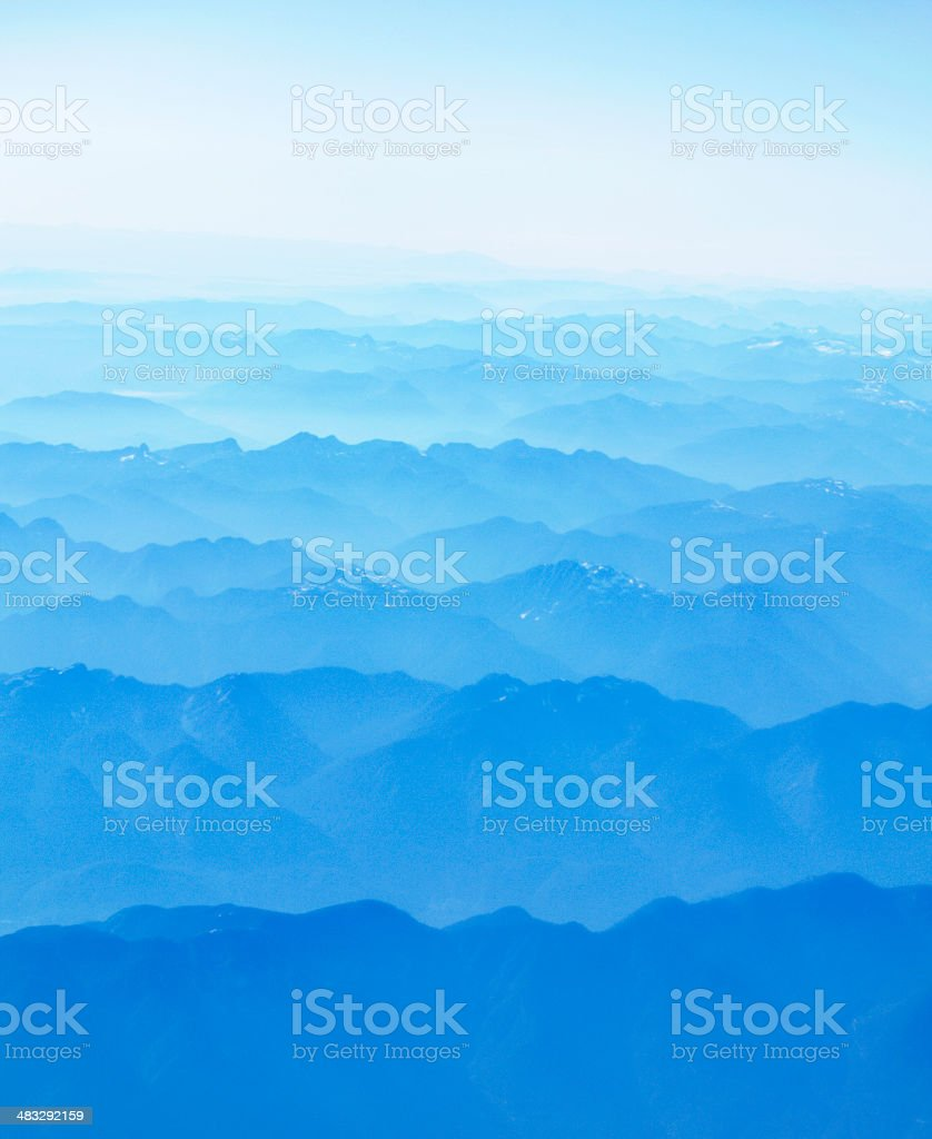 Dreamy Mountain Background royalty-free stock photo