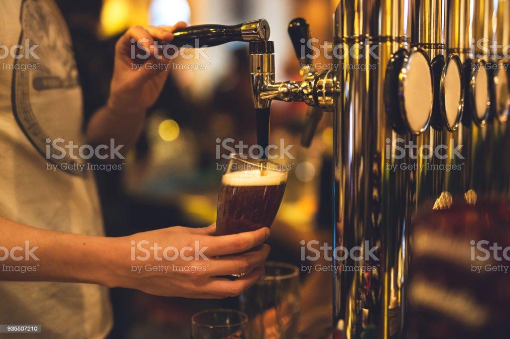 Dreft beer - foto stock