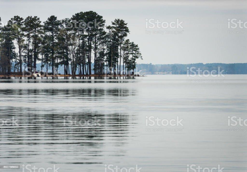Dreher Island State Park stock photo