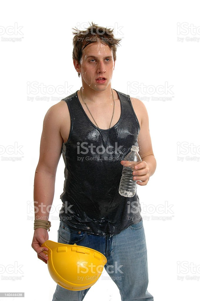 Drenched royalty-free stock photo