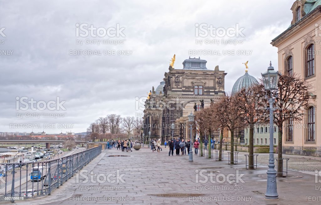 Dresden Academy of Fine Arts stock photo
