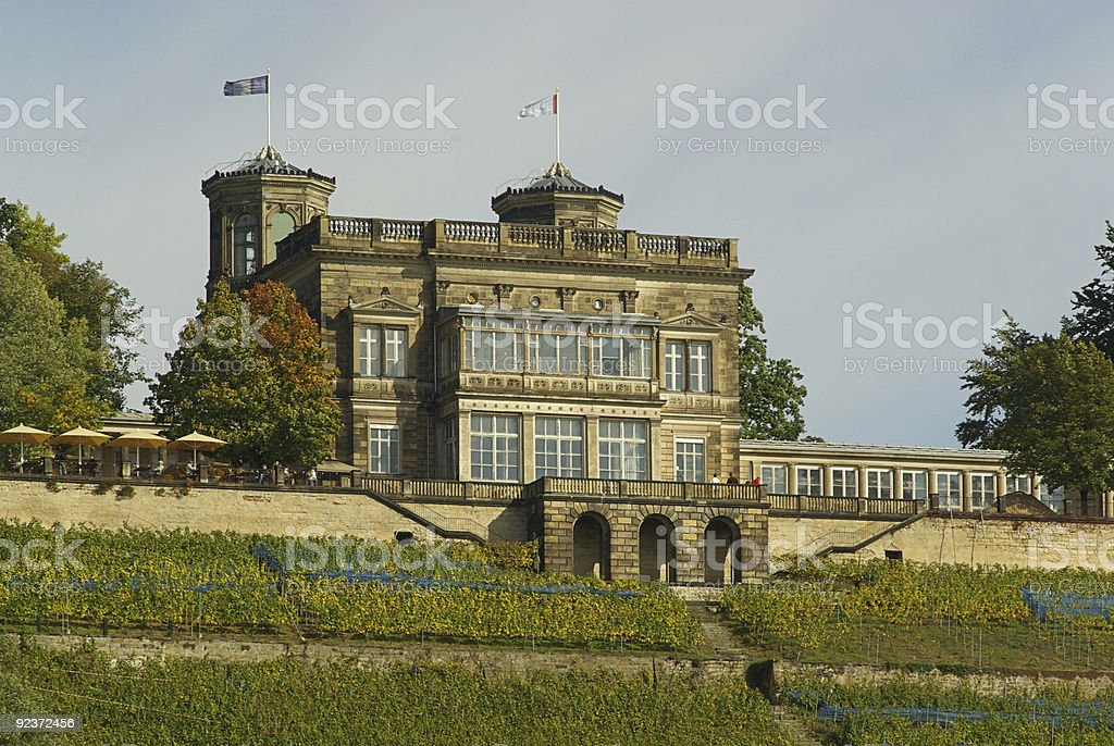 Dresden castle Lingnerschloss royalty-free stock photo