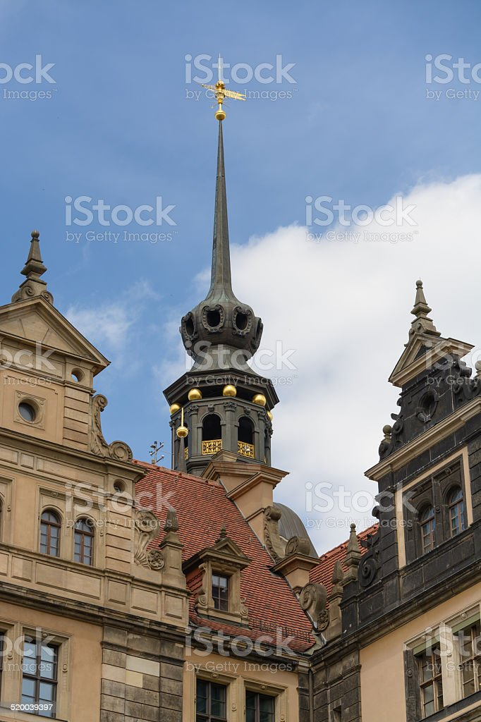 Castelo de Dresden tower foto royalty-free