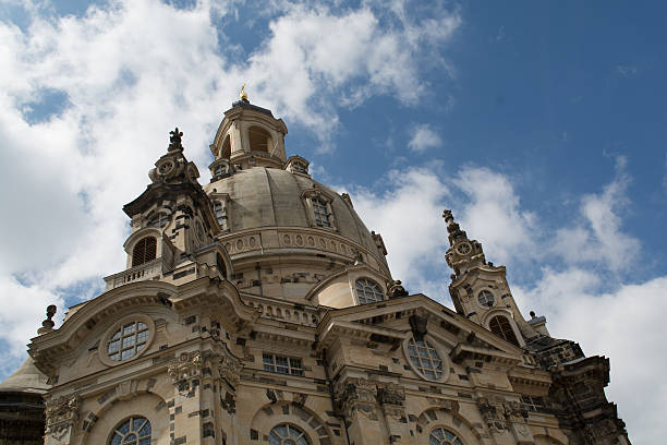 Catedral de Dresden - foto de acervo
