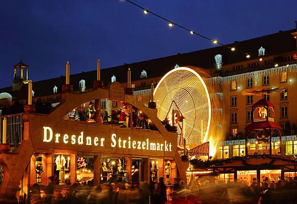 Dresden christmas market – Foto
