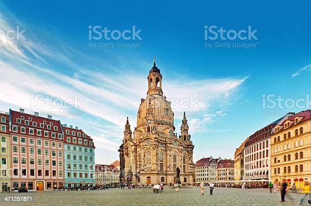 """The Dresdner Frauenkirche (""""Church of Our Lady"""") is a Lutheran church in Dresden, Germany."""