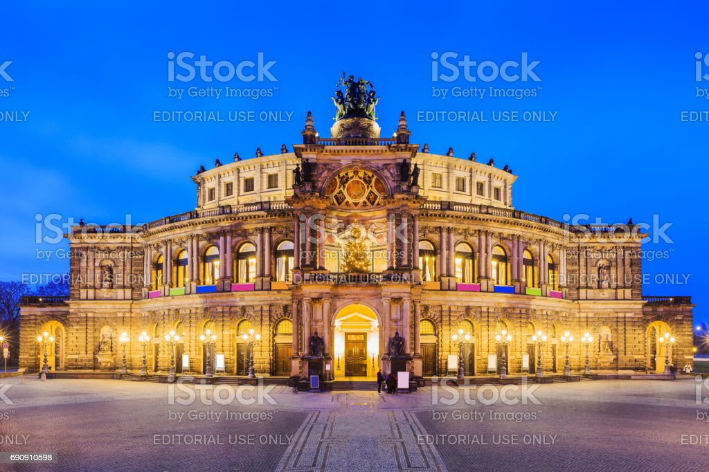 Dresden, Germany. stock photo