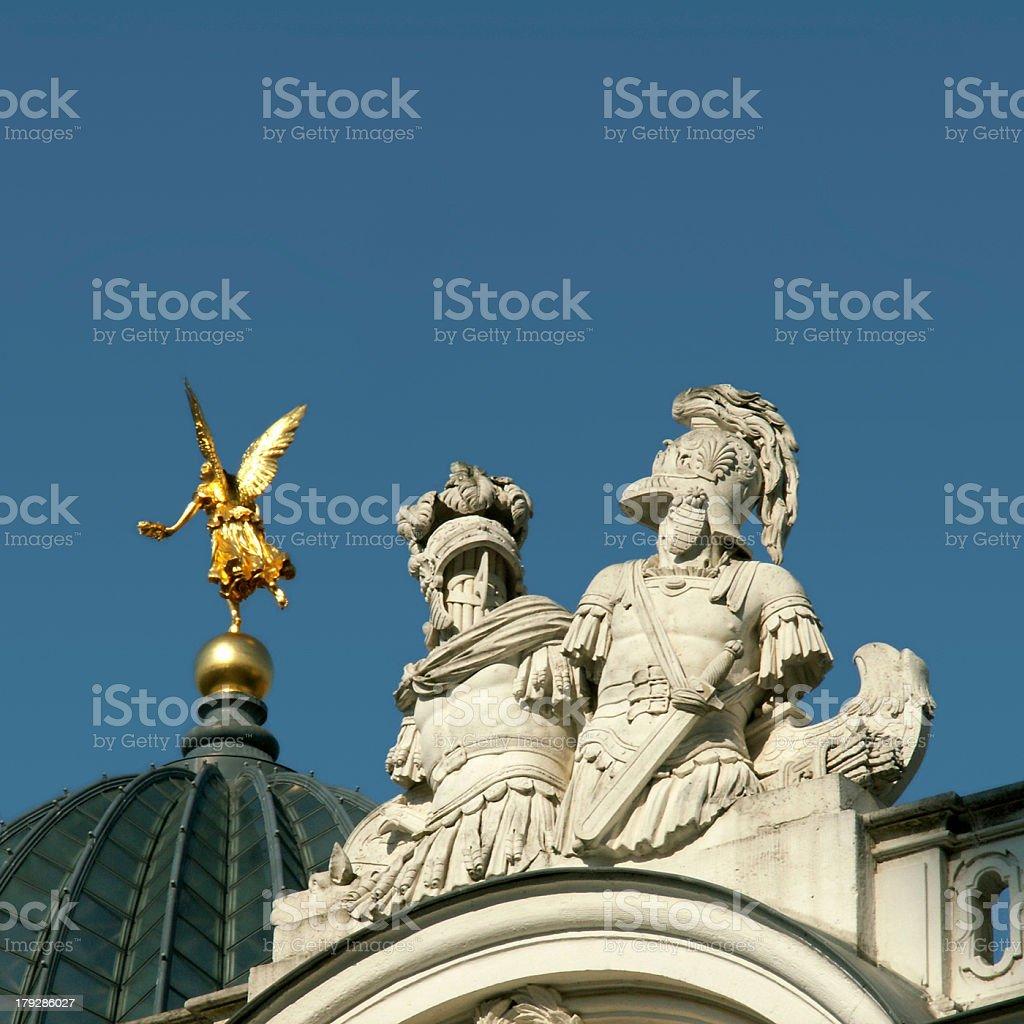 Dresden Kunstakademie (Die Hochschule für Bildende Künste) stock photo