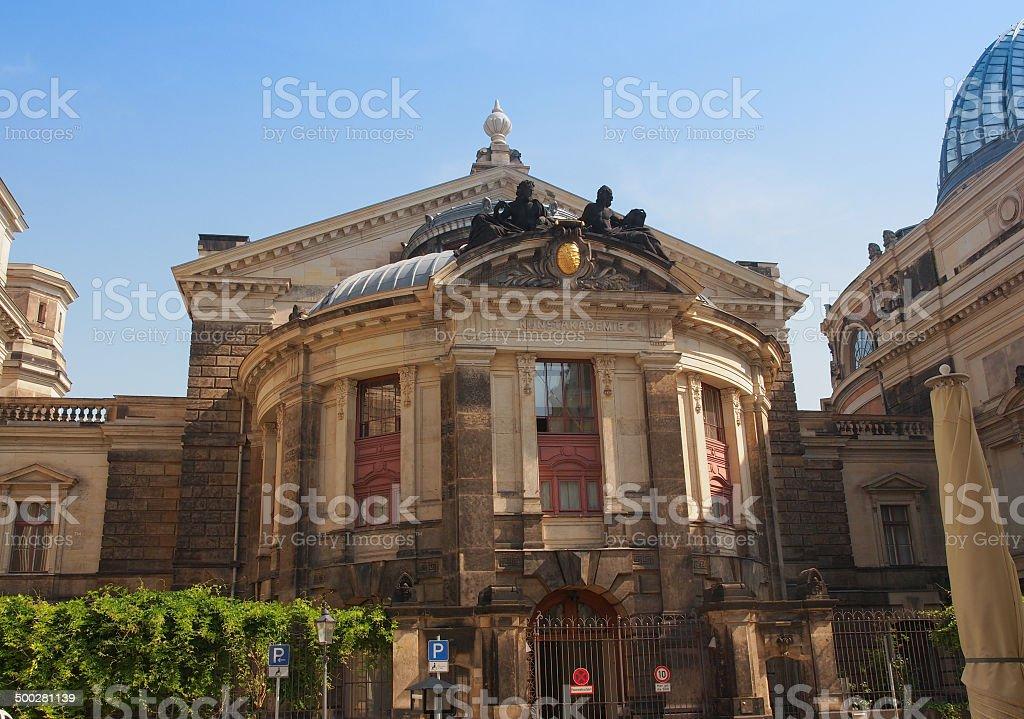 Dresden Kunstakademie stock photo