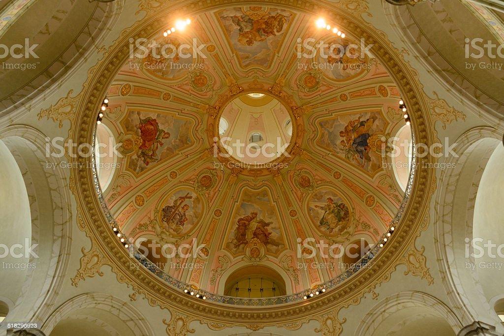 Dresden Igreja Luterana dome foto royalty-free