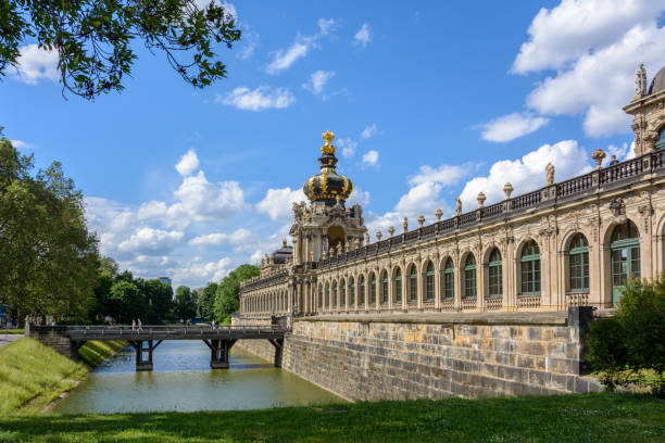 Dresden Picture Gallery - Dresden Zwinger, Dresden, Germany Dresden Picture Gallery - Dresden Zwinger, Dresden, Germany zwanger stock pictures, royalty-free photos & images