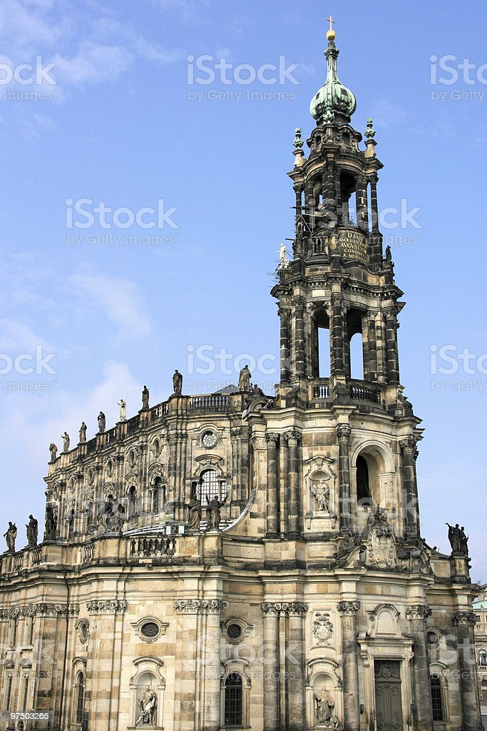 Dresden royalty-free stock photo