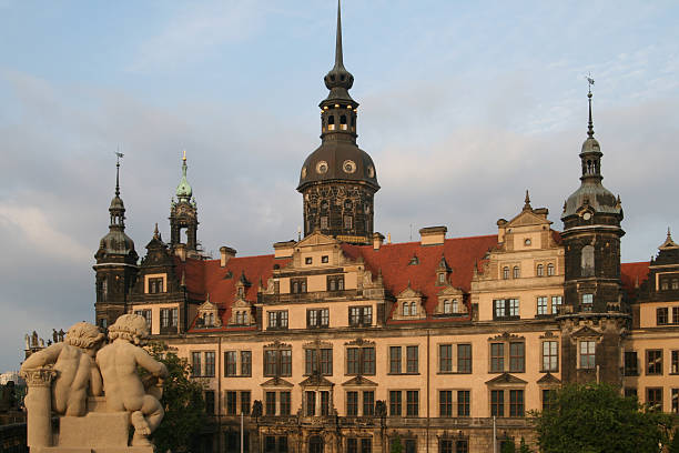 Dresden Residence Castle of August The Strong  zwanger stock pictures, royalty-free photos & images