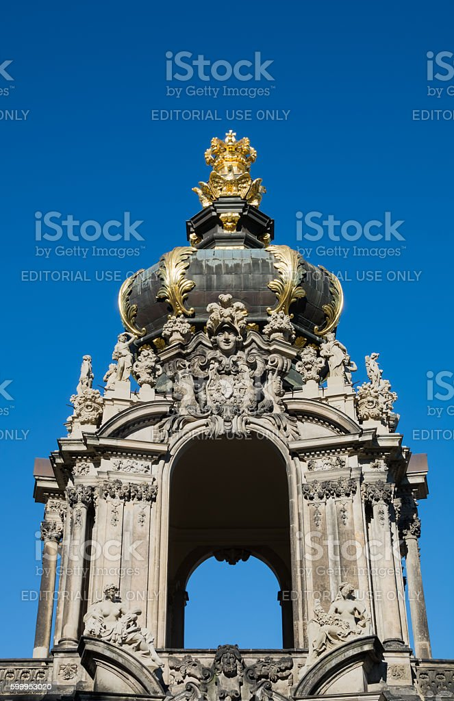 dresden zwinger Palace stock photo
