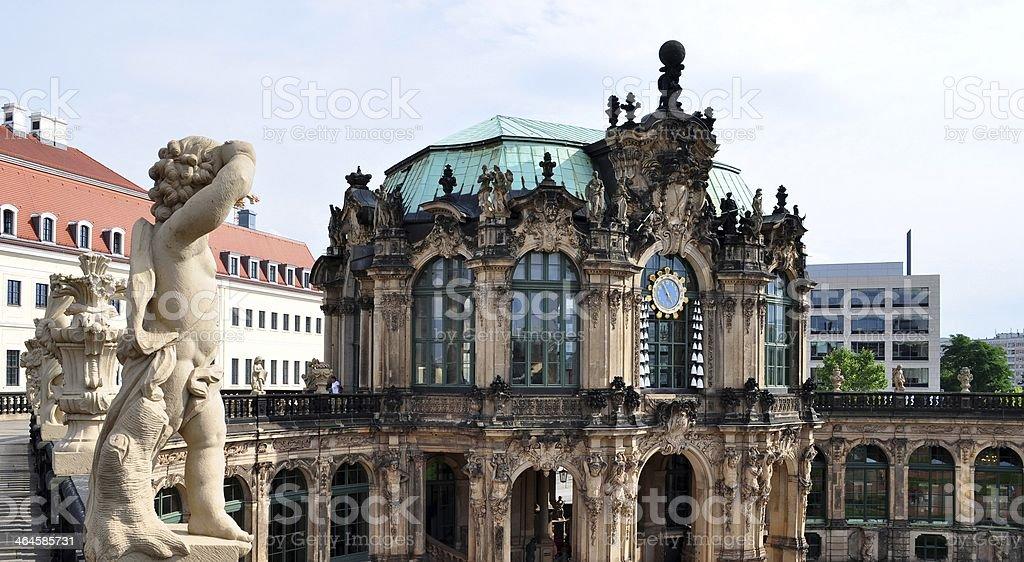 Dresden Zwinger stock photo