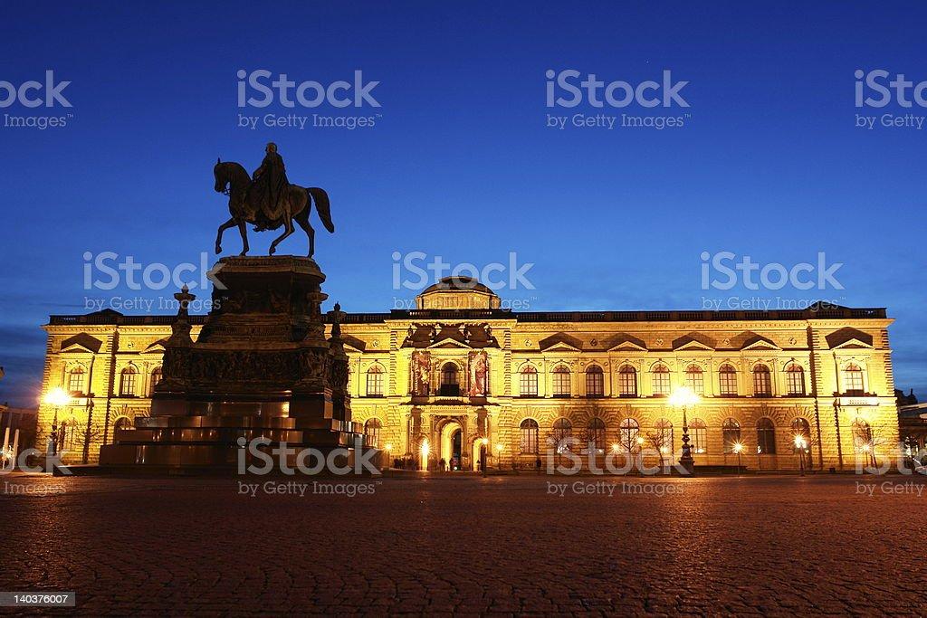 Dresdener Zwinger royalty-free stock photo