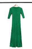 istock Dress on hanger isolated 1183060904