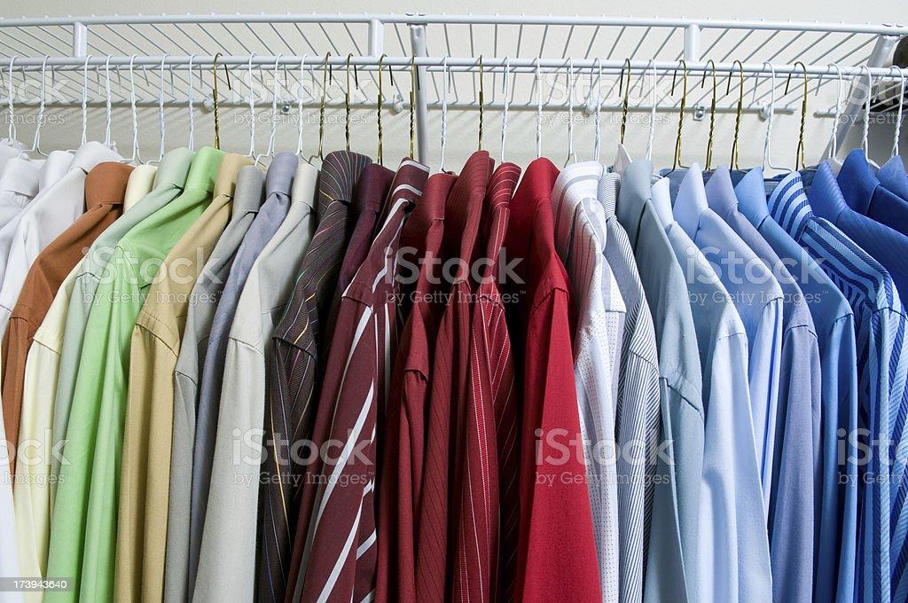 Dress Shirts royalty-free stock photo