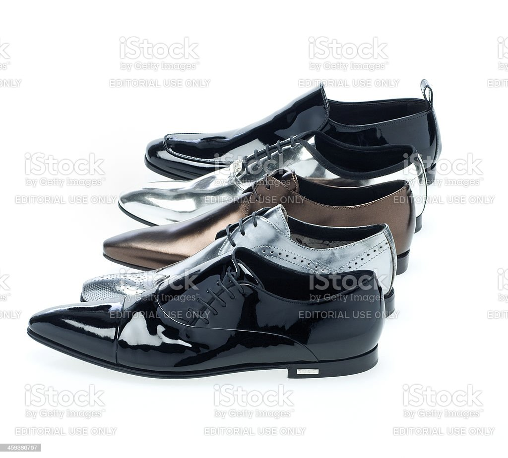 dress shoes for men by Gucci stock photo