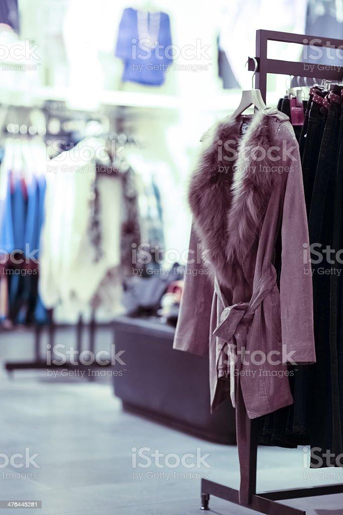 dress shop royalty-free stock photo